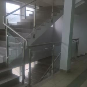 Eurochrom konstrukcje stalowe balustrady daszki realizacje